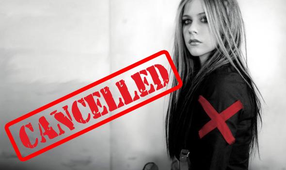 Malaysia Cancel Avril Lavigne