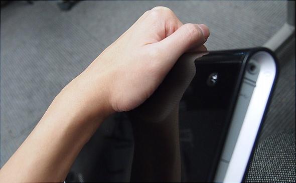 The design boasting a more comfortable grip