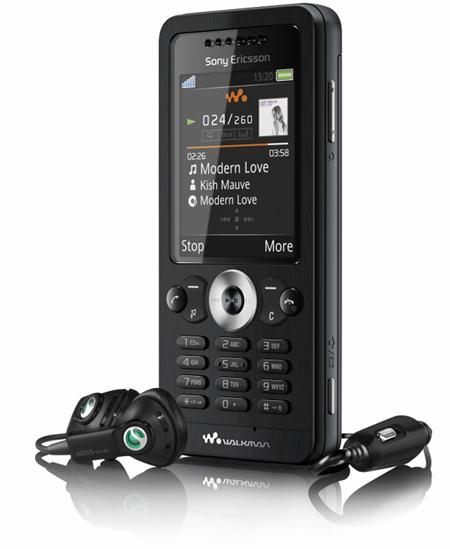 3 stunning new walkman phones from Sony Ericsson W302